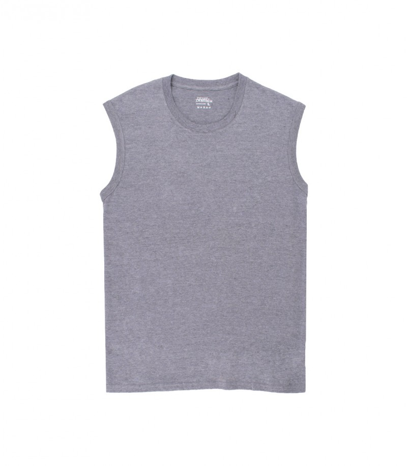 CN MUSCLE--HEATHER GRAY-HEATHER GRAY
